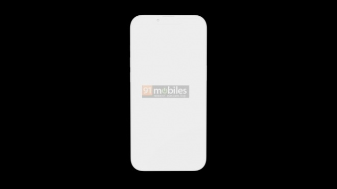 Initial iPhone 13 Pro renders reveal a distinctive design and smaller cutout
