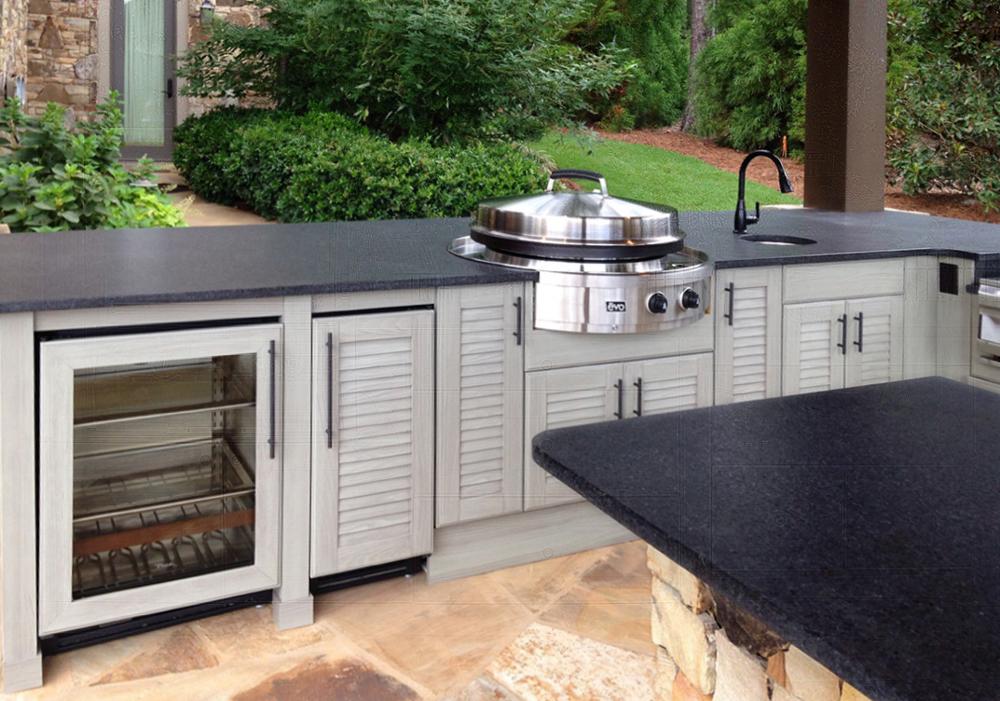 NatureKast with appliances