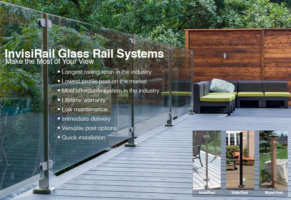 Invisirail Glass Rail Systems