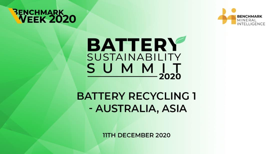 Battery Recycling 1 - Australia & Asia