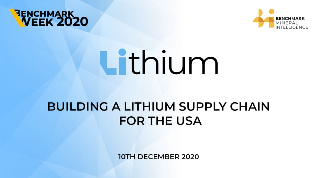 Building a lithium supply chain for the USA