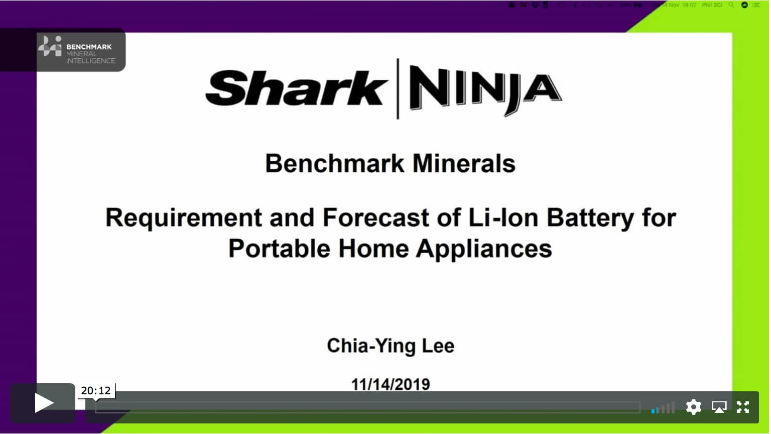 Requirement and forecast of li-ion battery for portable home appliances