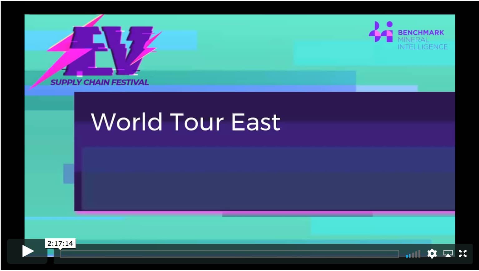 World Tour East