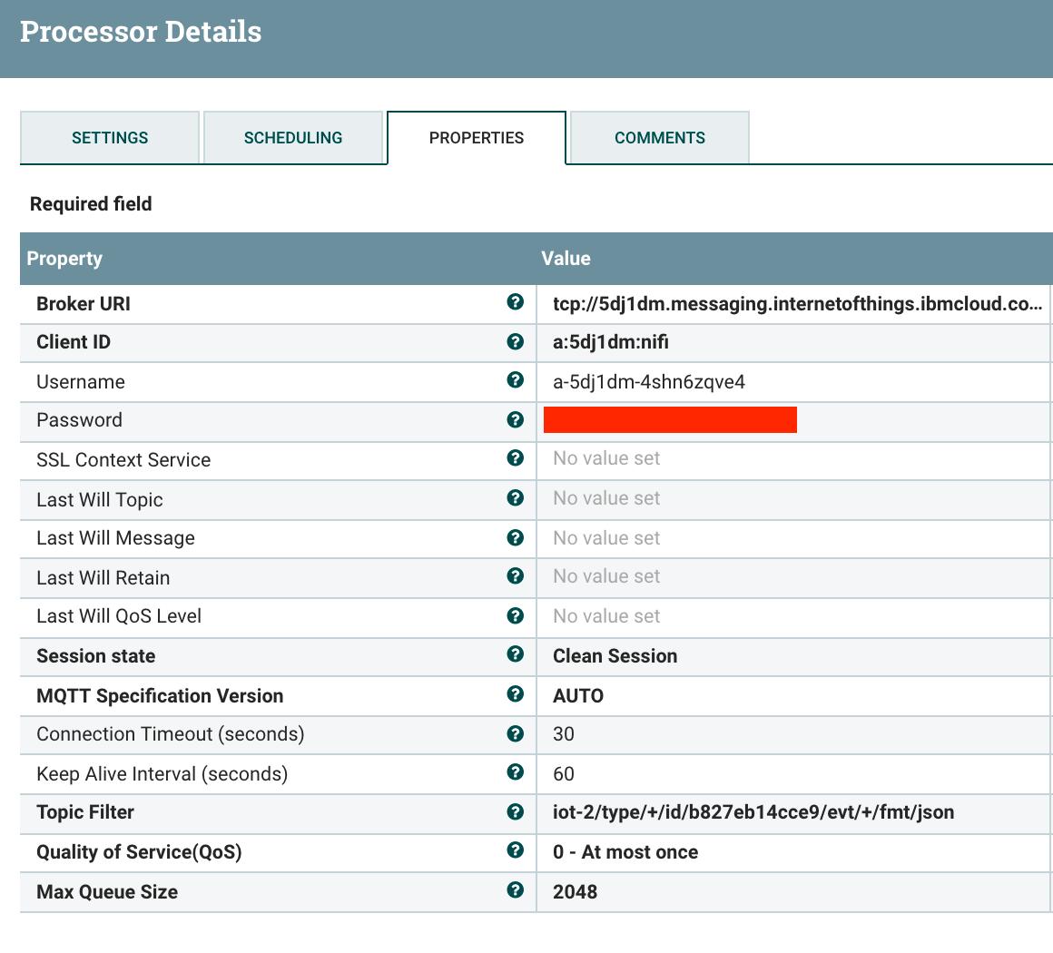 Using Apache NiFi on macOS to connect to IBM Bluemix Watson