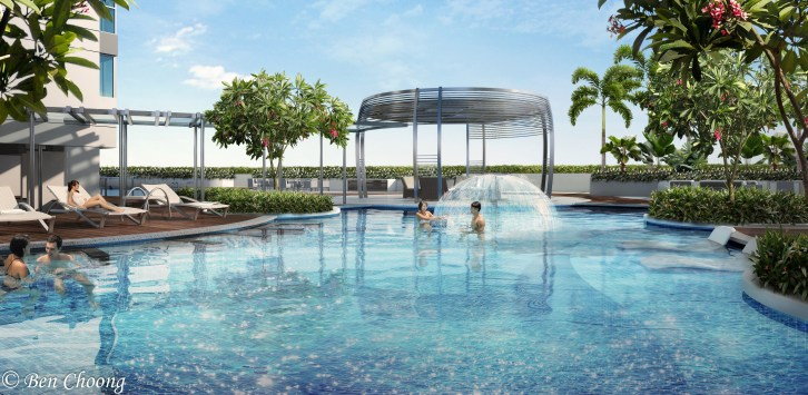 Hillion Residences Pool