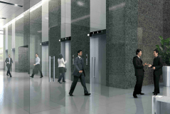 Vision Exchange Lift Lobby