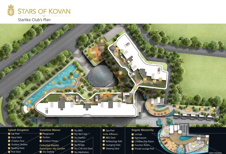 Stars of Kovan - facilities Developed by Cheung Kong