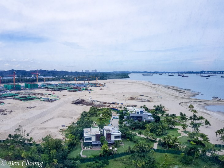 Tuas Second Link can be seen in the background