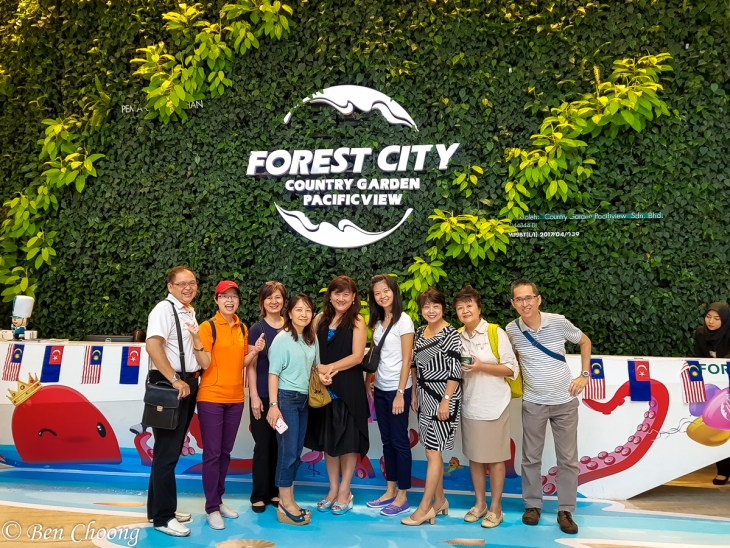 Forest City Golf Resort - with team mates touring Forest City