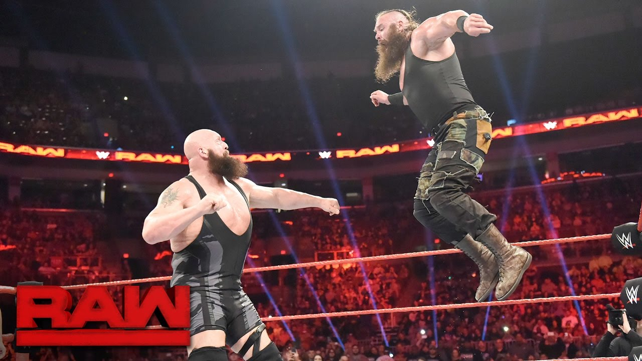 WATCH Big Show Vs Braun Strowman Broke The Ring And The