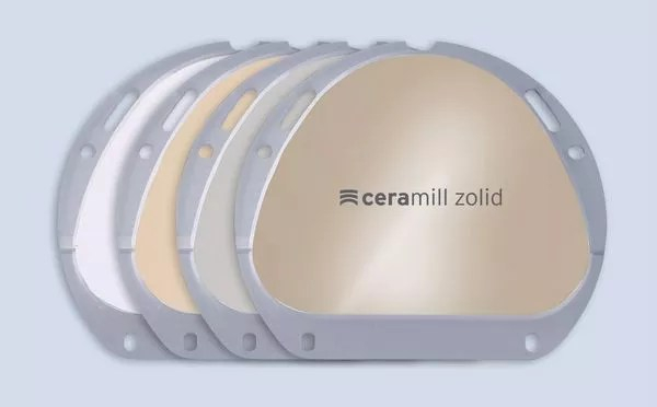 ceramill Zolid FX PreShade Blanks Package Picture