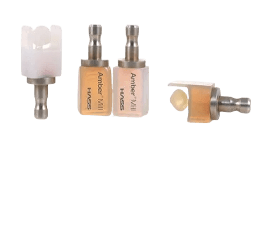 Hass amber mill blocks for dental milling machines