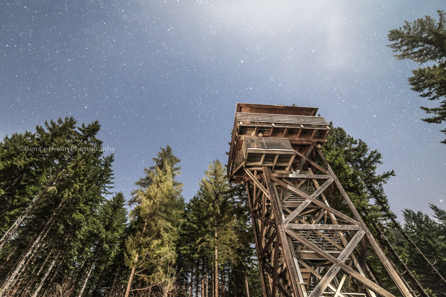 Lookout tower in Tillamook State Forest: You didn't think I'd put up a blog post with no images, did ya?