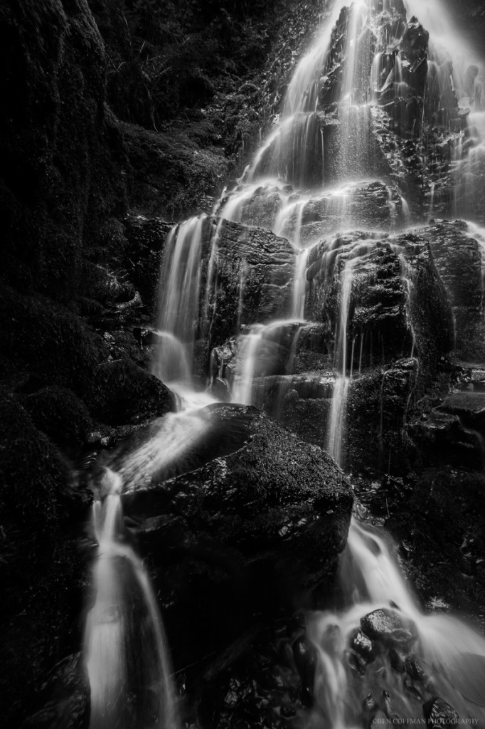 "Fairy Falls, Columbia River Gorge, Oregon. Prints available (use the ""Contact me"" form below)."