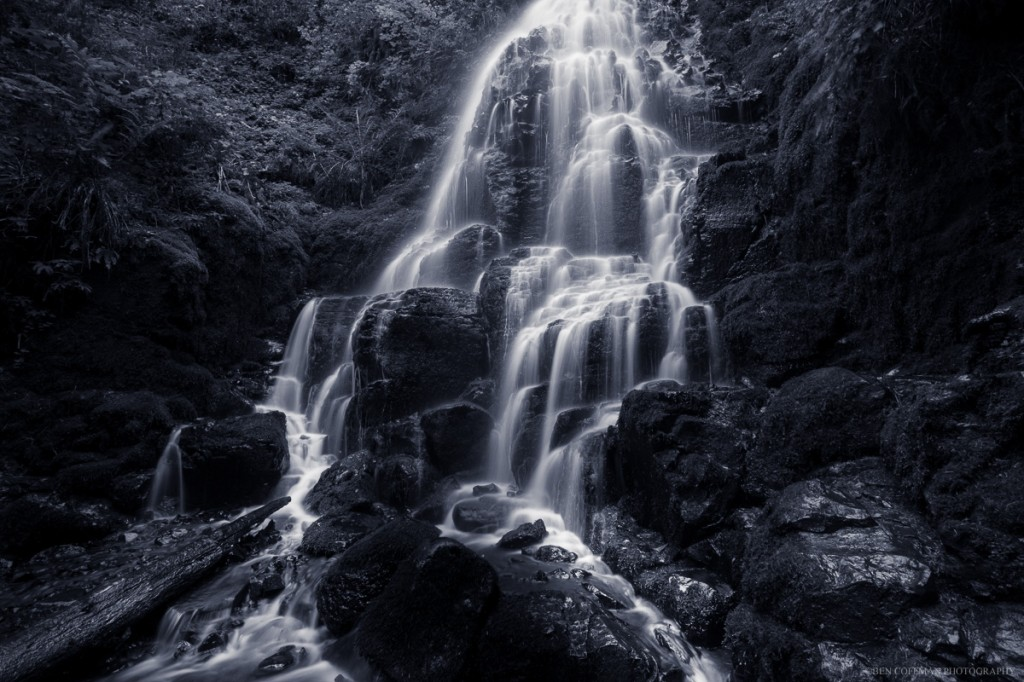 """Fairy Falls, low flow, split toned,"" prints available (use the ""Contact me"" form below)."