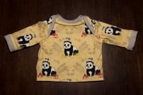 Schlupfshirt gelb mit Pandas 5