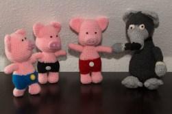 Der Wolf und die 3 Schweinchen