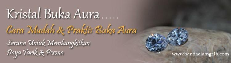 Produk Spiritual - Kristal Buka Aura - Benda Alam Gaib