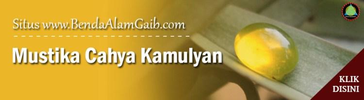 Batu Mustika Keberuntungan Mustika Cahya Kamulyan