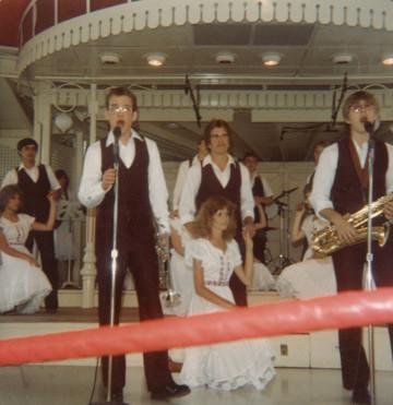 SRHS Chamber Singers, Disneyland, June 1982