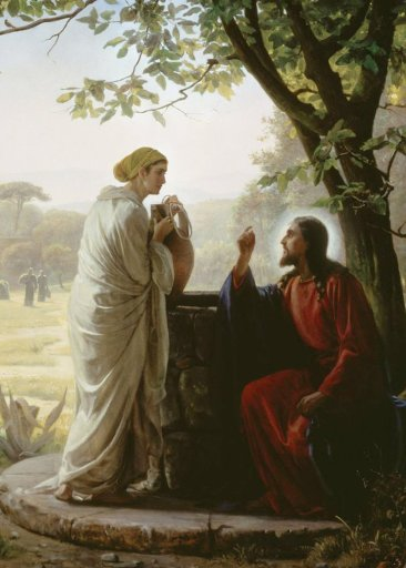 Carl Bloch - Samaritan Woman at the Well