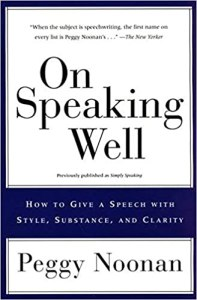 peggy noonan - on speaking well