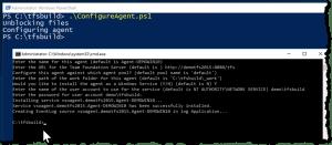 Configure the TFS2015 build agent