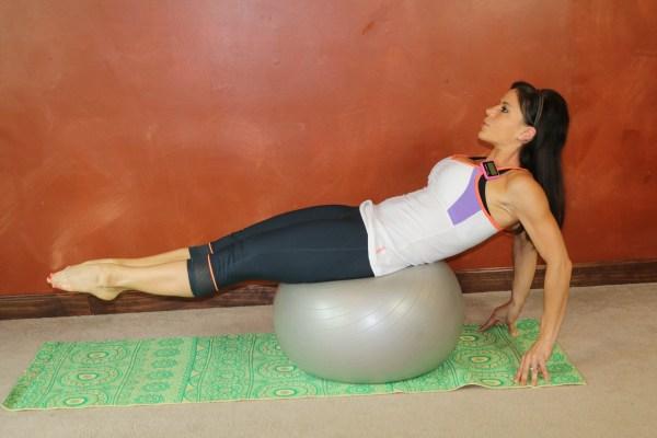Ball Leg Lift: Part 2