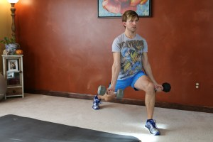 Lunge Curl & Press: Part 3