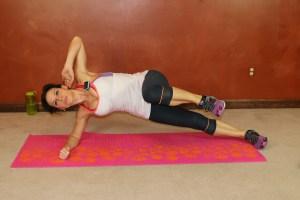 Side Plank Knee/Leg Lift: Part 2