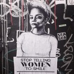 Tatyana Fazlalizadeh street art