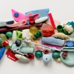 """""""Balls"""" by Judith & Richard lang. Beach plastic picked up in Cavallo Point, Point Reyes National Seashore."""