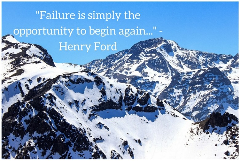 fear and failure
