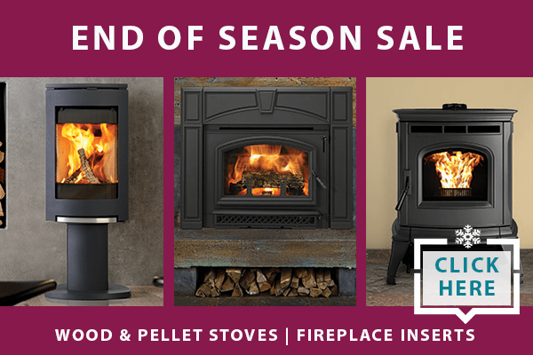 End of Season wood and pellet stove sale