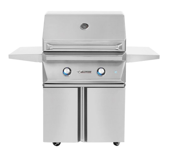 30″ GAS GRILL BASE WITH 2 DOORS
