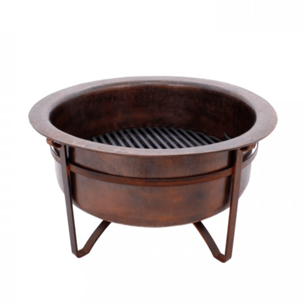 "Rustic Copper 31"" Fire Pit (Arcadia-31)"