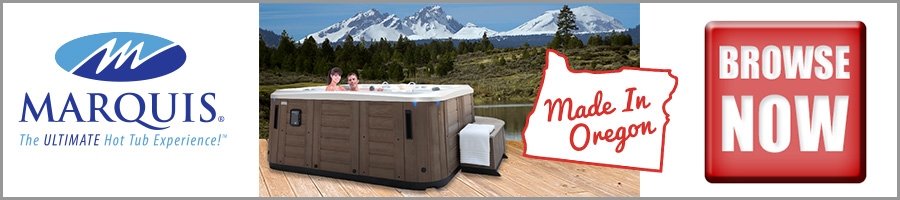 Browse Oregon Made Marquis Hot Tubs from Fireside