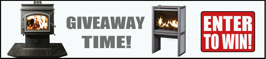 Enter to win a free wood stove