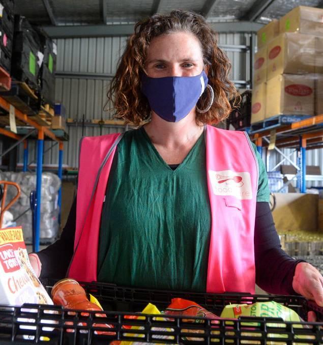 Bendigo Foodshare manager Bridget Bentley