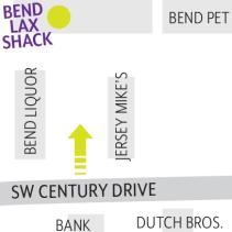 Lax Shack Map