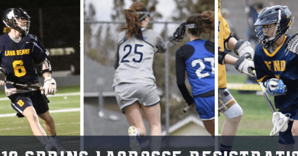 2019 Spring Lacrosse Registration Banner