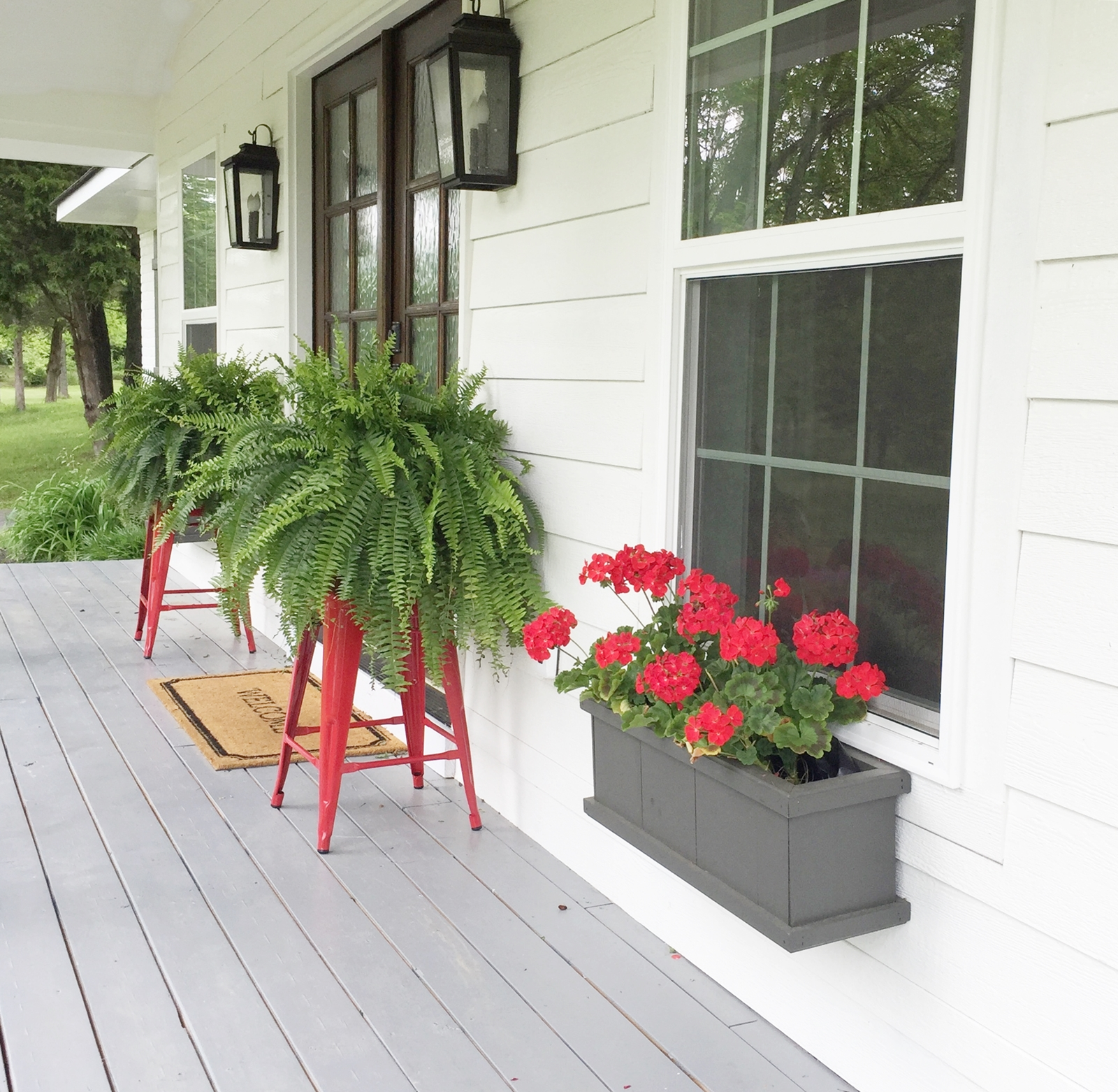 Unique Ideas for Plant Stands - Beneath My Heart on Hanging Plant Stand Ideas  id=47819