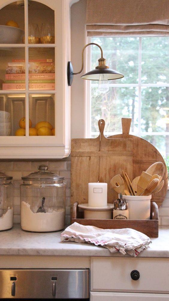 10 Farmhouse Kitchen Essentials - Beneath My Heart on Farmhouse Countertops  id=43777
