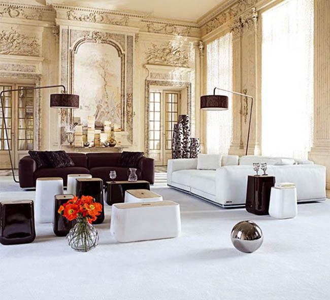 Abbinare mobili antichi e mobili moderni non è facile. Arredamento Misto Arredamento Moderno Misto A Classico