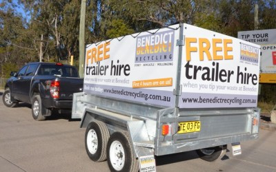 Clean Up with our Free Trailer Hire