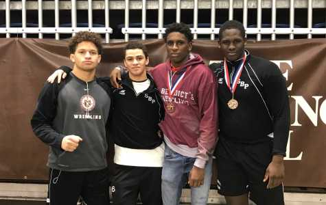 Wrestlers Finish Season at Lehigh University in Ninth Place and with Four All-Americans