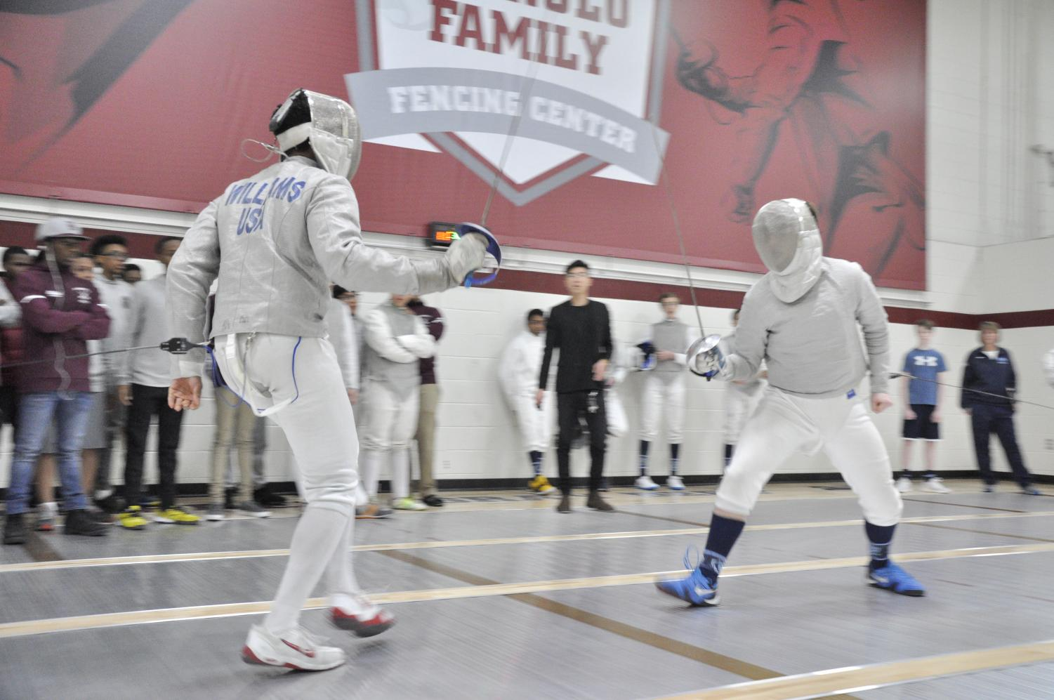 Fencers beat Rival CBA, after losing to them last year.