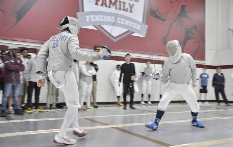Fencing Team Defeats Rival CBA in First Home Match