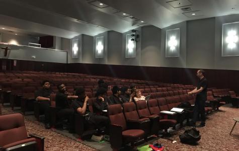 Collins talks theater tech