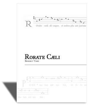 Rorate cæli - the Advent Prose